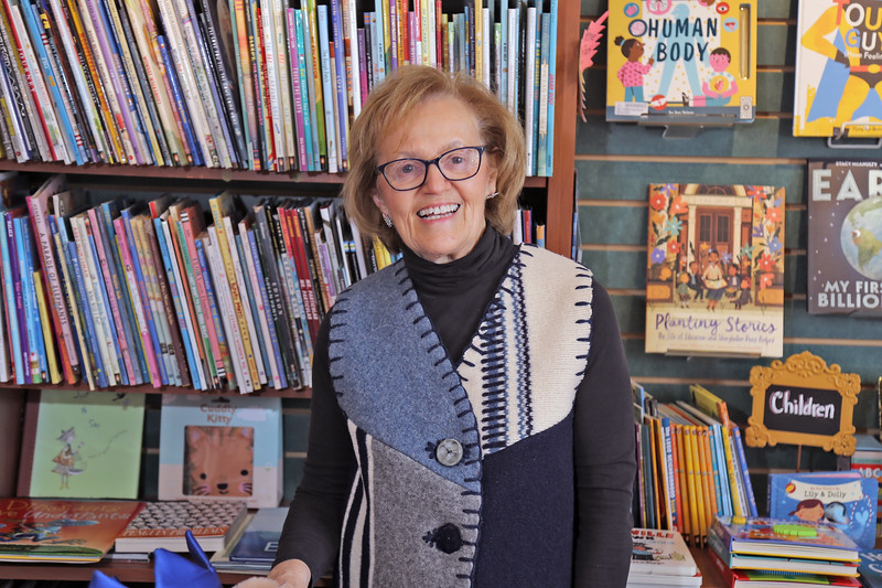 Rita Maggio owner of the Booktowne Book Store located along Mains Street in Manasquan is photographed on Friday Feb. 22, 2019. (MARK R. SULLIVAN /THE COAST STAR)