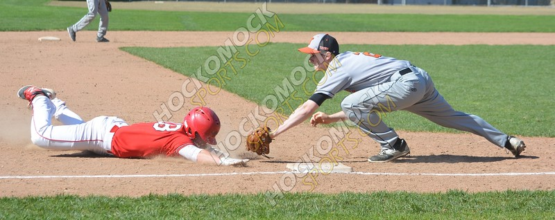 Taunton - North Attleboro Baseball 5-9-16