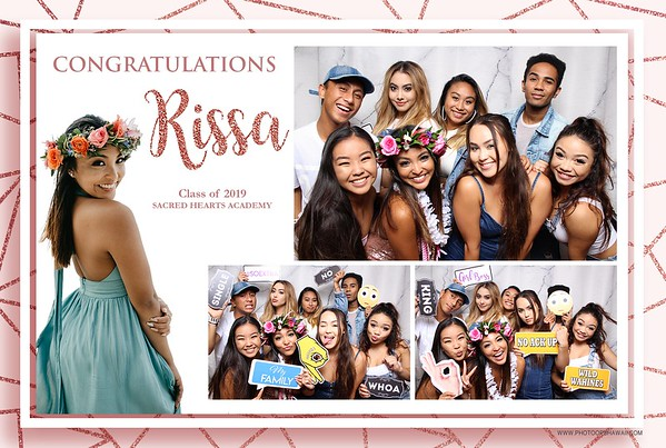 Rissa's Graduation Party (Fusion Photo Booth + Video)