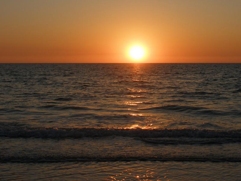 Sunset at Indian Rocks beach