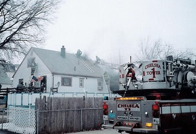 Chelsea, MA - Working Fire, 12 Madison Street, 2-18-04
