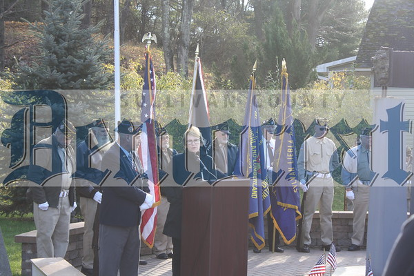 Highland Veterans Ceremony
