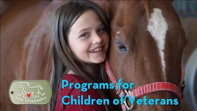 Children of Veterans Programs
