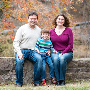 Megan & Michael's Fall Family Portraits