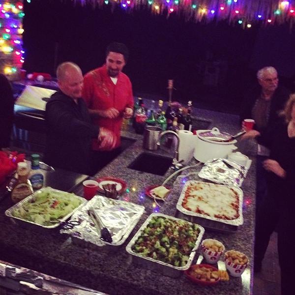 Christmas party #2 via Instagram http://instagram.com/p/iNQbuUhIau/
