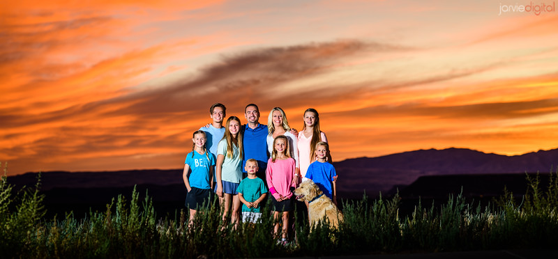St George Impromptu family pictures