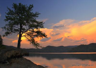 Lake Jocassee spring 4-10-11