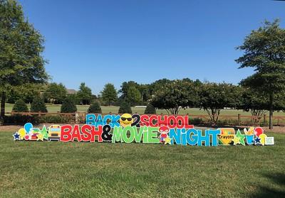 2019 Back-2-School Bash & Movie Night