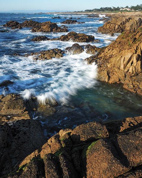 Incoming Wave, California Coast  (20099)