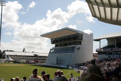 England v West Indies Barbados Feb 09