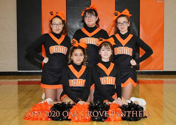 2019-2020 OGMS Cheerleading