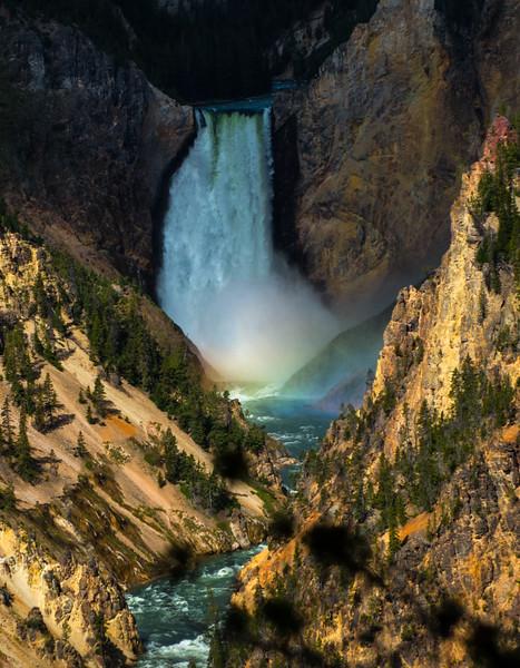Rainbow Waterfall at Artist Retreat
