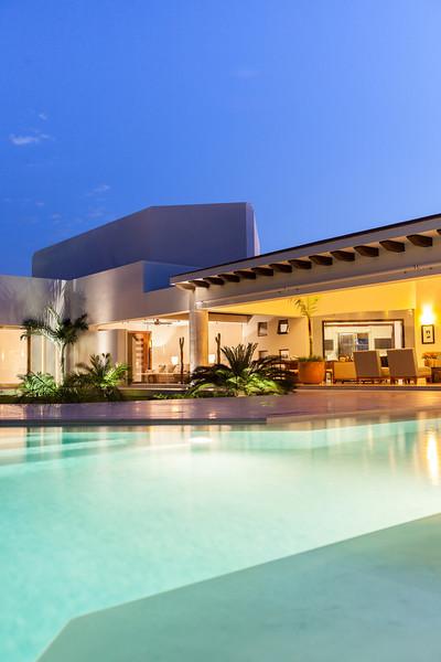 Private home interior commissioned by Interior design magazine. Mérida, Mexico.