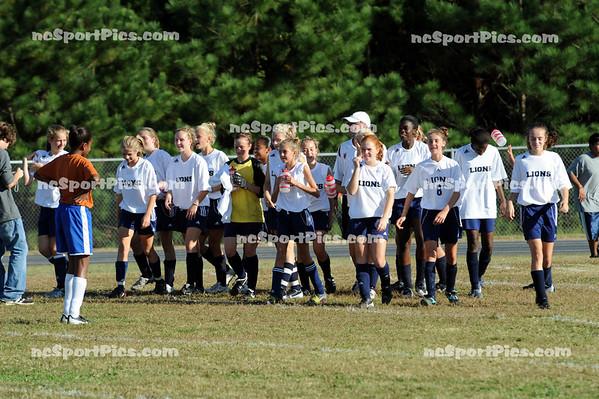 Girls Soccer - Leesville Lions vs East Millbrook 10-14-2008
