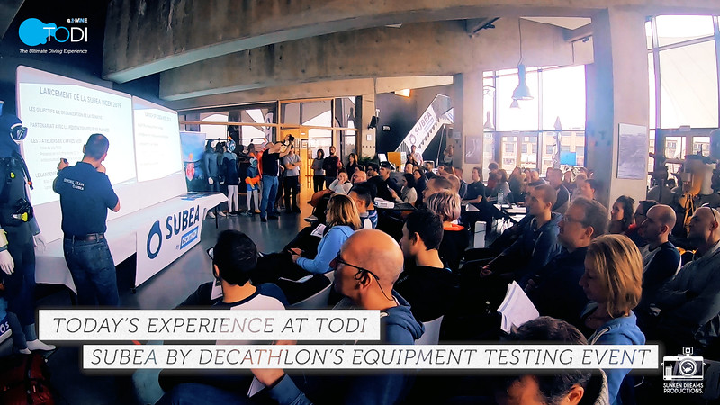 Today at TODI: Subea by Decathlon Training Event 2min