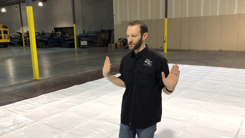 RDS | Shelter | Placement and Unrolling Shelter onto Ground Tarp 2 20190511.mov