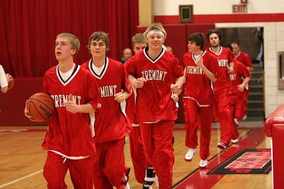 Boys Varsity Basketball - 2/24/2009 Manistee