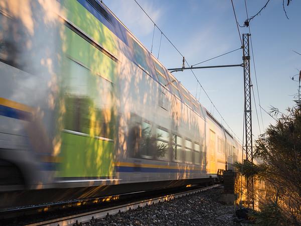 Corre il treno, corre...