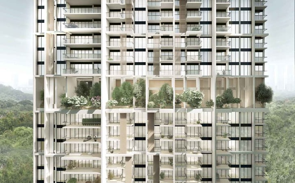 Avenue South Residence balconies