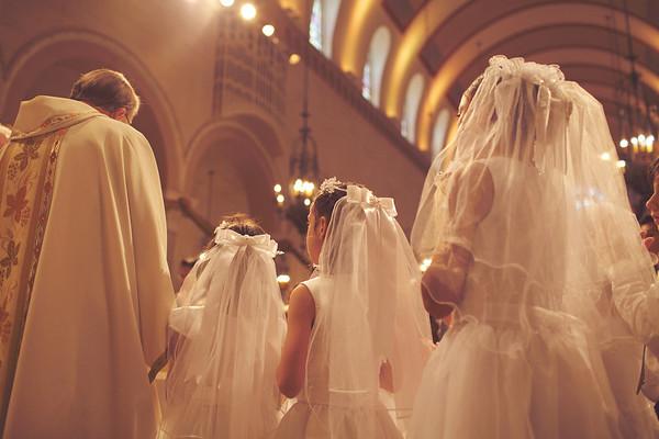 First Eucharist 2013