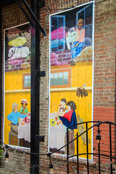 Mural in the Alley