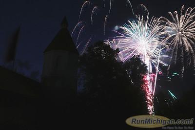 Fireworks - 2013 Volkslaufe