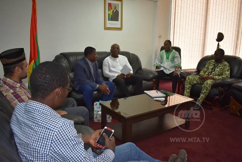 Minister of Communication Mr Fulgance DANDJINOU