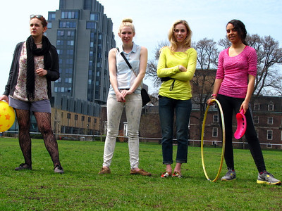 U of T Keep Back Campus Green Play Day