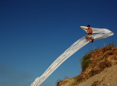 2010 Lake Michigan Beach with Silk