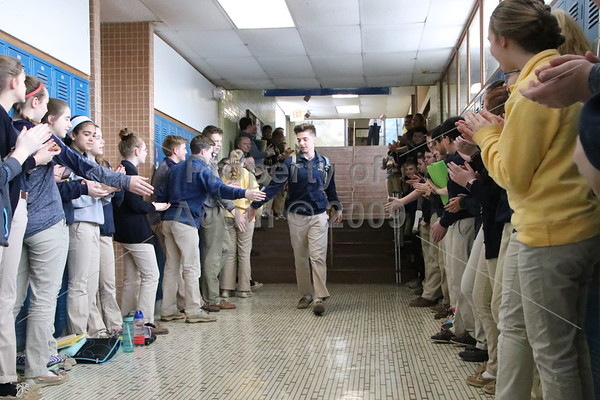 brennan's send-off to state 3-point shoot . 3.7.19