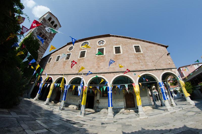 The Church of Our Lady, Agiasos Village (Αγιάσσος), Lesvos, Greece