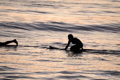 Sunset Surfing 8-19-2012