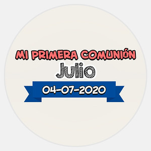 Comunión Julio