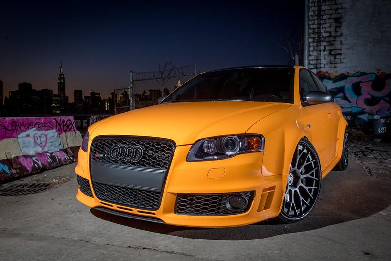 Nighttime RS4 Photos