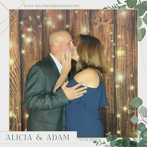 Alicia & Adam's Wedding October 10, 2020