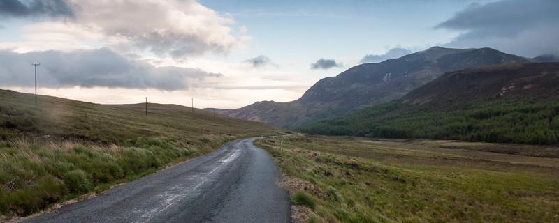Goatfell mountain on the Isle of Arran