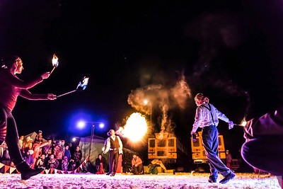 Cirque de Fuego at Winterfest 2017