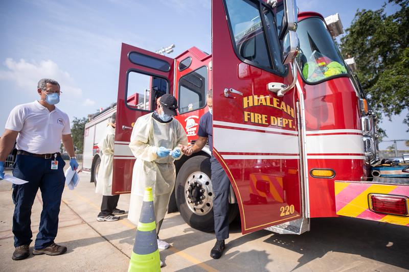 April 16, 2020 Gordon Center COVID Testing Hialeah Fire-137.jpg