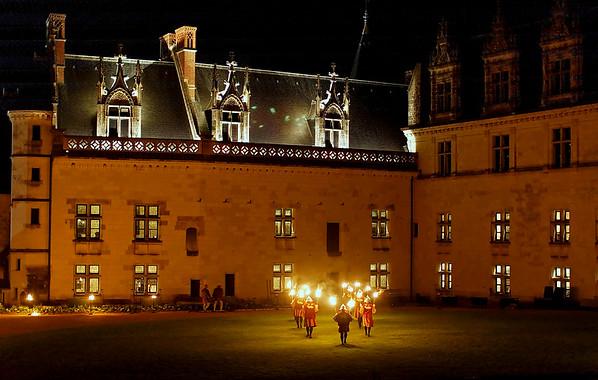 Chateau d'AMBOISE - A la Cour du Roy Francois - Le chateau