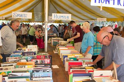 Book Fair Patrons