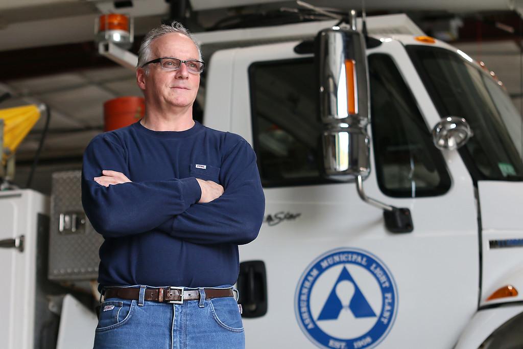 . The new Ashburnham Municipal Light Plant General Manager Kevin M. Sullivan. SENTINEL & ENTERPRISE/JOHN LOVE
