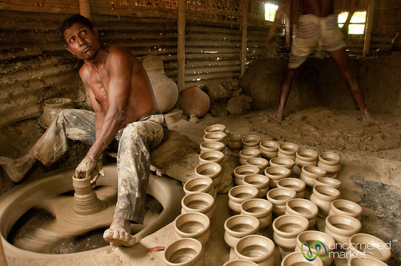 Pottery Village in Najiirpur, Bangladesh