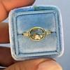 1.56ct Rustic Rose Cut Diamond Bezel Ring, by Single Stone 21