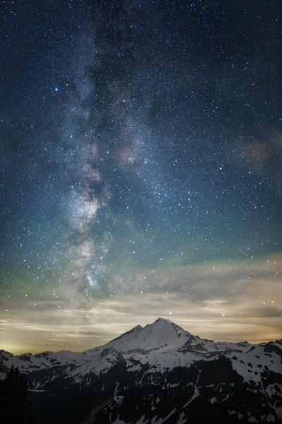 Mt. Baker Milky Way