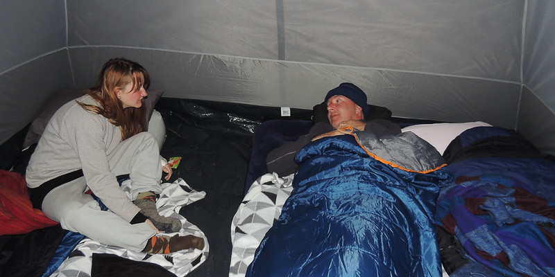 Coooold night in the tent