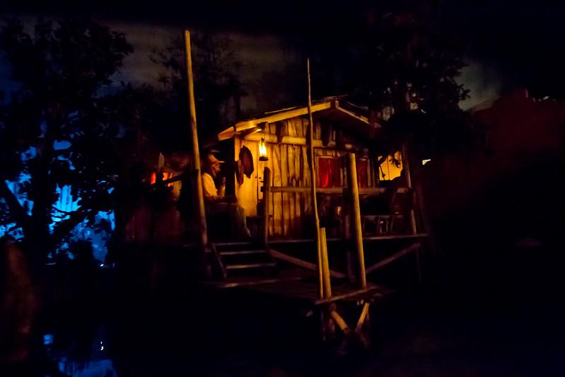 Banjo Player Inside Pirates Of The Carribean Ride @ Disneyland