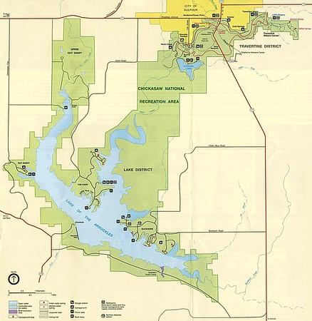 National Recreation Area Maps