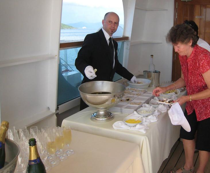 Caviar Sail Away
