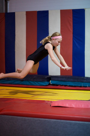 Trampoline and Tumbling Friday 5:00 pm