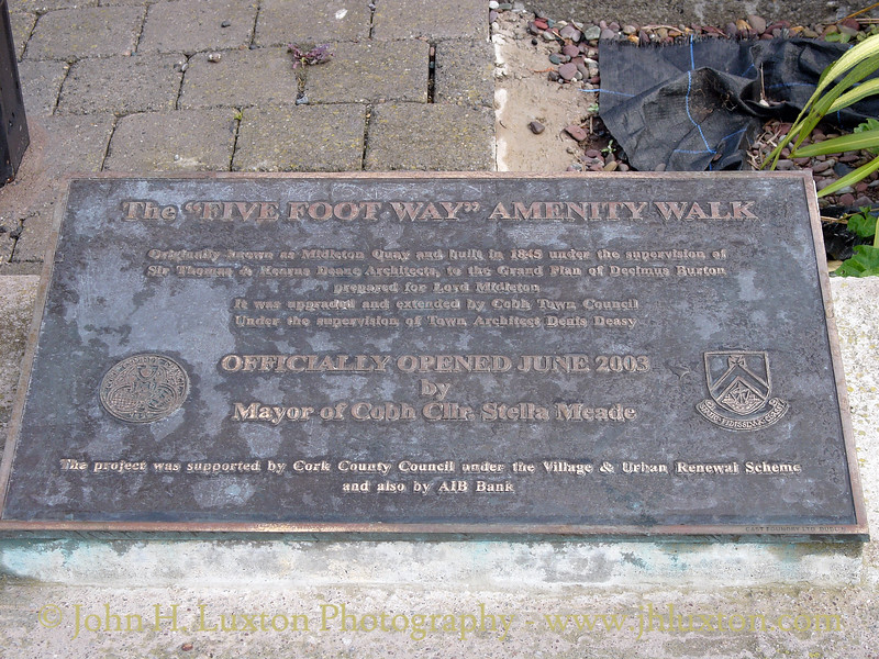 The Five Foot Way, Cóbh, County Cork, Eire - July 31, 2006
